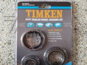 Timken Boat Trailer Wheel Bearing Kit Ford Axle Marine Seal Blister Pack