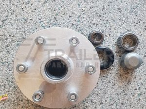 Galvanised Landcruiser Lazy Hub, 6 stud with Ford/SL Bearings