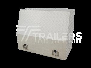Full Opening Aluminium Checker Plate Tool Box 20