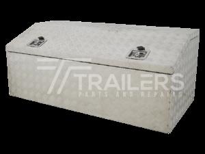 Chest Style Aluminium Checker Plate Tool Box 23
