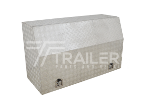 Full Opening Aluminium Checker Plate Tool Box 24E
