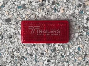 Red Reflecter Small 20mm x 70mm