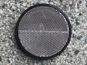 Clear Round Reflector 40mm Dia