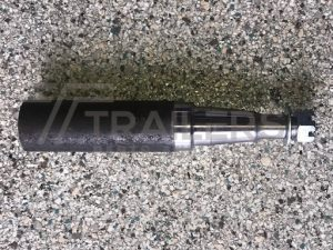 "Stub axle 45mm round x 200mm (8"")"