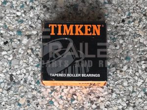 Timken Tapered Roller Bearing Set 4 (L44649-L44610) 1.8 Tonne Suit American Trailers
