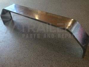 10'' Wide 1830mm L Galvanised Tandem Mudguard