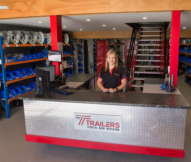 Trailer Parts & Repairs retail shop