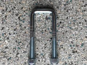 40mm x 115mm Square U/Bolt Zinc