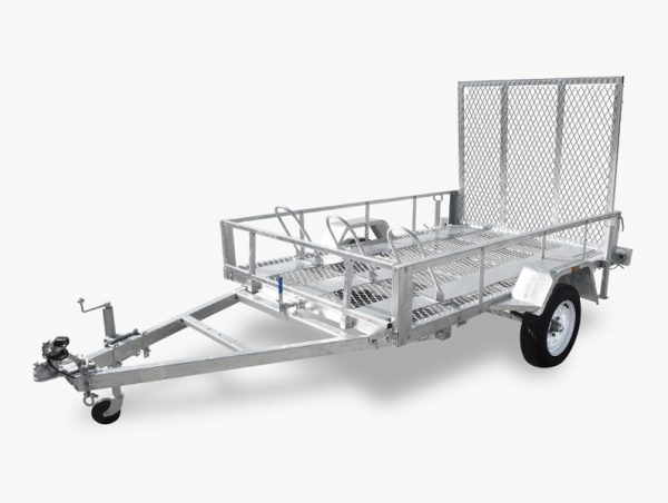 8 x 5 Motor Cycle and ATV Trailer (3 Wheel Holders) 750kg ATM