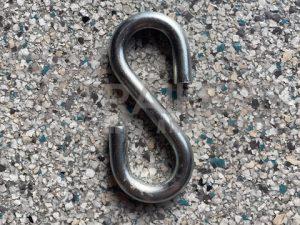 S Hook 10mm Zinc