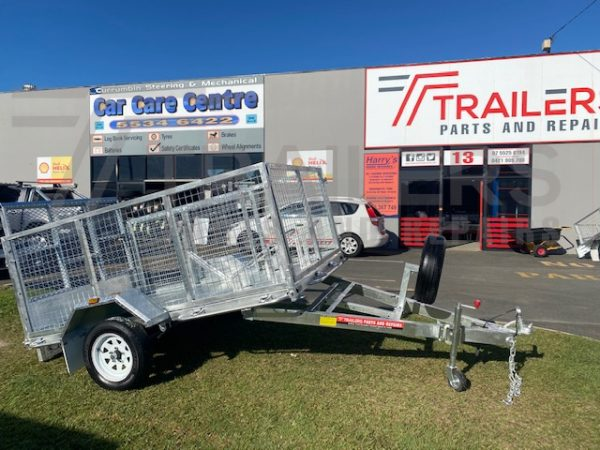 8 x 5 ATV and Caged Trailer 750kg ATM