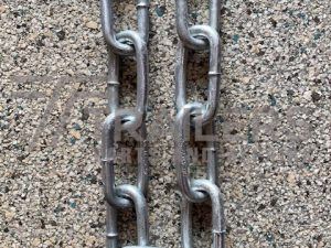 10mm Galvanised Rated Safety Chain 600mm Long