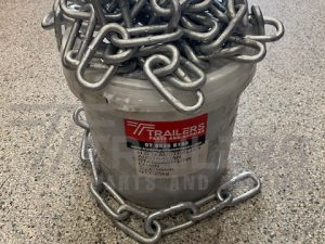 Bucket of 10mm Galvanised Rated Safety Chain 15m Per Bucket