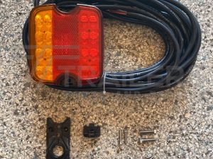 Multimount Combination LED Lamp with 9m Cable