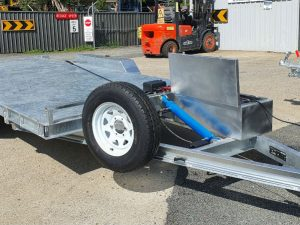 3.5 Tonne Hydraulic Tipping Car Trailer