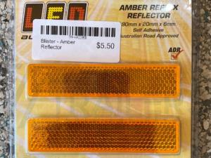 Blister - Amber Reflector Slim